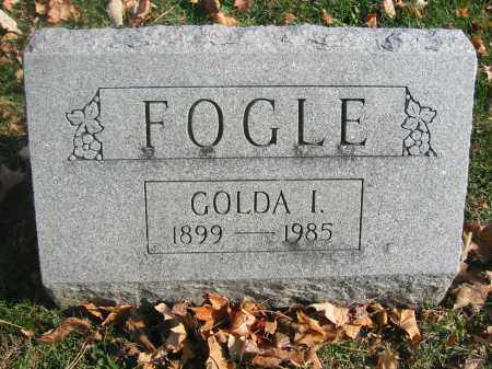 FOGLE, GOLDA - Richland County, Ohio | GOLDA FOGLE - Ohio Gravestone Photos