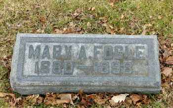 FOGLE, MARY A - Richland County, Ohio | MARY A FOGLE - Ohio Gravestone Photos