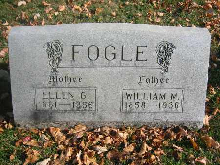 WOODS FOGLE, ELLEN - Richland County, Ohio | ELLEN WOODS FOGLE - Ohio Gravestone Photos