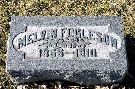 FOGLESON, MELVIN - Richland County, Ohio | MELVIN FOGLESON - Ohio Gravestone Photos