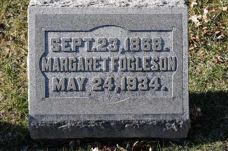 FOGLESON, MARGARET - Richland County, Ohio | MARGARET FOGLESON - Ohio Gravestone Photos
