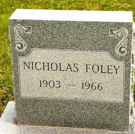 FOLEY, NICHOLAS - Richland County, Ohio | NICHOLAS FOLEY - Ohio Gravestone Photos