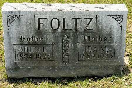 FOLTZ, IDA M - Richland County, Ohio | IDA M FOLTZ - Ohio Gravestone Photos