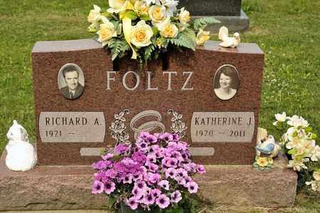 FOLTZ, KATHERINE J - Richland County, Ohio | KATHERINE J FOLTZ - Ohio Gravestone Photos