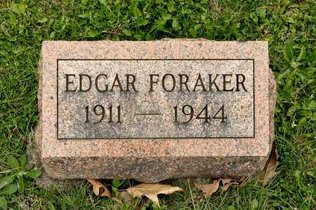 FORAKER, EDGAR - Richland County, Ohio | EDGAR FORAKER - Ohio Gravestone Photos