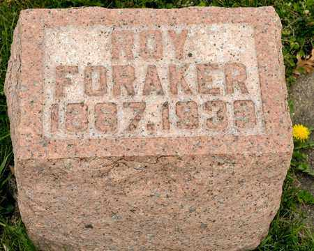 FORAKER, ROY - Richland County, Ohio | ROY FORAKER - Ohio Gravestone Photos