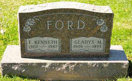FORD, GLADYS M - Richland County, Ohio | GLADYS M FORD - Ohio Gravestone Photos
