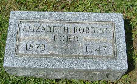 ROBBINS FORD, ELIZABETH - Richland County, Ohio | ELIZABETH ROBBINS FORD - Ohio Gravestone Photos