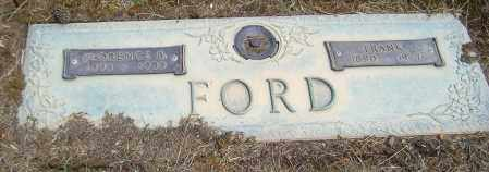 FORD, FRANK - Richland County, Ohio | FRANK FORD - Ohio Gravestone Photos