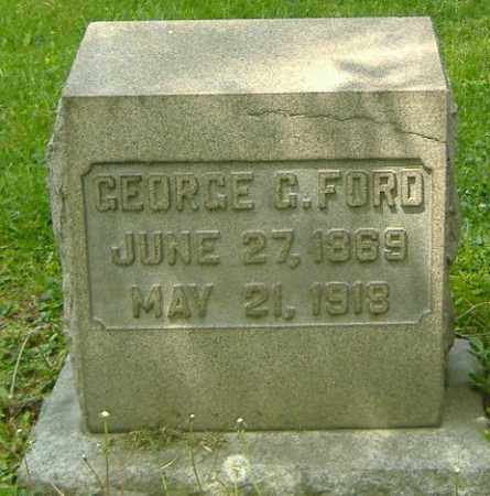 FORD, GEORGE G. - Richland County, Ohio | GEORGE G. FORD - Ohio Gravestone Photos