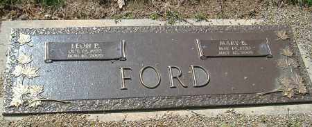 FORD, MARY B. - Richland County, Ohio | MARY B. FORD - Ohio Gravestone Photos