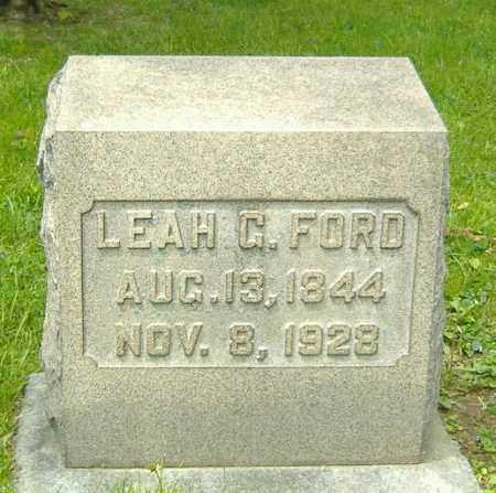 FORD, LEAH G. - Richland County, Ohio | LEAH G. FORD - Ohio Gravestone Photos