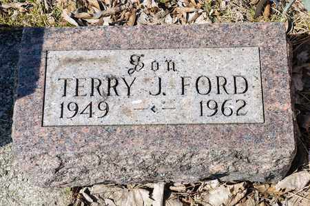 FORD, TERRY J - Richland County, Ohio | TERRY J FORD - Ohio Gravestone Photos