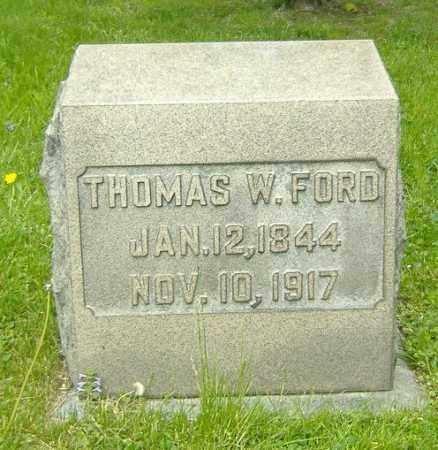 FORD, THOMAS W. - Richland County, Ohio | THOMAS W. FORD - Ohio Gravestone Photos