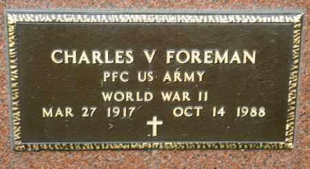 FOREMAN, CHARLES V - Richland County, Ohio | CHARLES V FOREMAN - Ohio Gravestone Photos