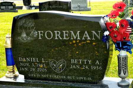 FOREMAN, DANIEL L - Richland County, Ohio | DANIEL L FOREMAN - Ohio Gravestone Photos