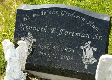 FOREMAN SR, KENNETH E - Richland County, Ohio | KENNETH E FOREMAN SR - Ohio Gravestone Photos