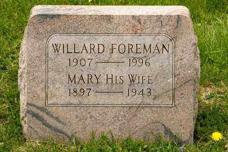 FOREMAN, WILLARD - Richland County, Ohio | WILLARD FOREMAN - Ohio Gravestone Photos