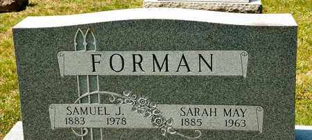 FORMAN, SAMUEL J - Richland County, Ohio | SAMUEL J FORMAN - Ohio Gravestone Photos