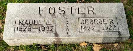 FOSTER, MAUDE E - Richland County, Ohio | MAUDE E FOSTER - Ohio Gravestone Photos