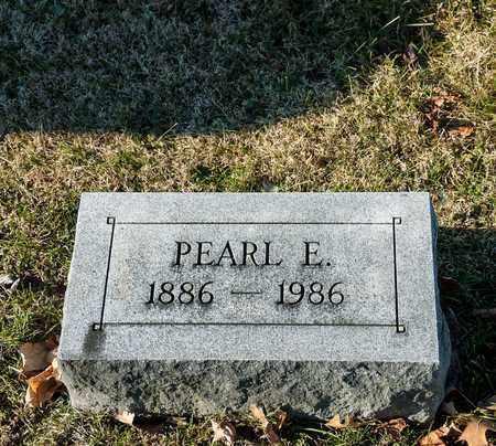 FOSTER, PEARL E - Richland County, Ohio | PEARL E FOSTER - Ohio Gravestone Photos