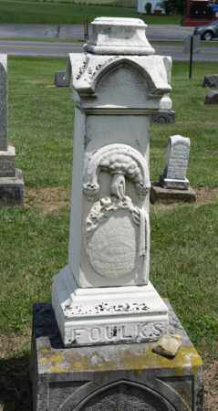 FOULKS, ANNA - Richland County, Ohio | ANNA FOULKS - Ohio Gravestone Photos