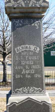 FOUST, ALBINA D - Richland County, Ohio | ALBINA D FOUST - Ohio Gravestone Photos