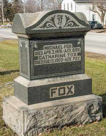 FOX, MICHAEL - Richland County, Ohio | MICHAEL FOX - Ohio Gravestone Photos