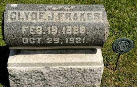 FRAKES, CLYDE J - Richland County, Ohio | CLYDE J FRAKES - Ohio Gravestone Photos