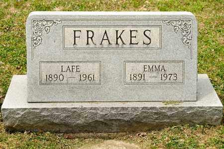 FRAKES, EMMA - Richland County, Ohio | EMMA FRAKES - Ohio Gravestone Photos