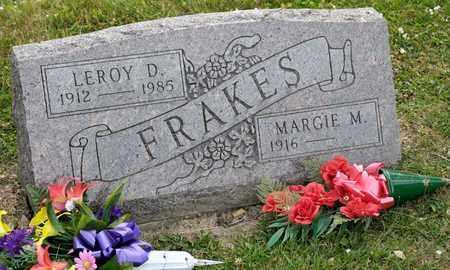 FRAKES, LEROY D - Richland County, Ohio | LEROY D FRAKES - Ohio Gravestone Photos