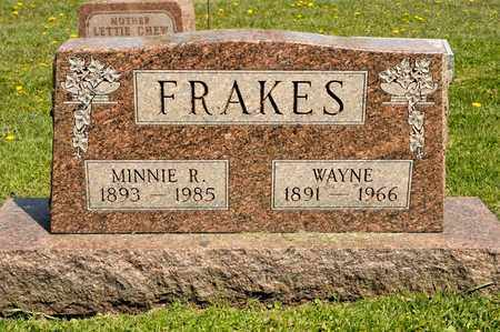 FRAKES, WAYNE - Richland County, Ohio | WAYNE FRAKES - Ohio Gravestone Photos
