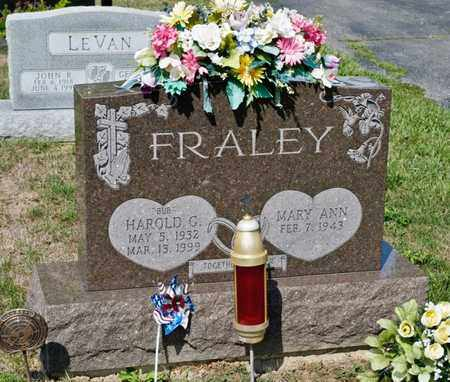 FRALEY, HAROLD G - Richland County, Ohio | HAROLD G FRALEY - Ohio Gravestone Photos