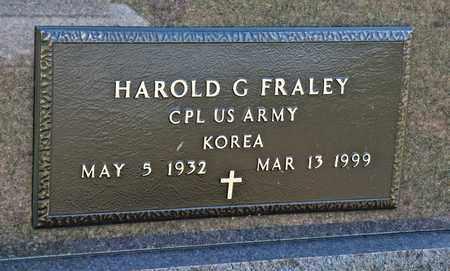 FRALEY, HAROLD G - Richland County, Ohio | HAROLD G FRALEY - Ohio Gravestone Photos