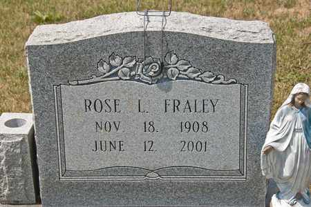 FRALEY, ROSE L - Richland County, Ohio | ROSE L FRALEY - Ohio Gravestone Photos