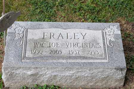FRALEY, WILLIAM JOE - Richland County, Ohio | WILLIAM JOE FRALEY - Ohio Gravestone Photos