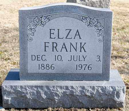 FRANK, ELZA - Richland County, Ohio | ELZA FRANK - Ohio Gravestone Photos