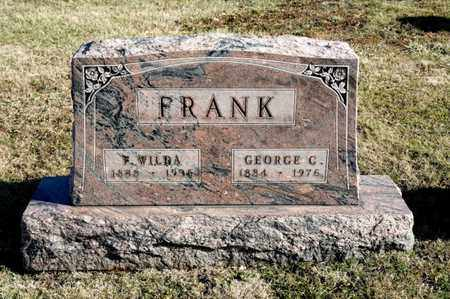 FRANK, F WILDA - Richland County, Ohio | F WILDA FRANK - Ohio Gravestone Photos