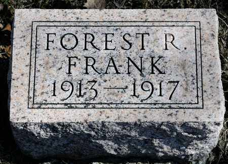 FRANK, FOREST R - Richland County, Ohio | FOREST R FRANK - Ohio Gravestone Photos