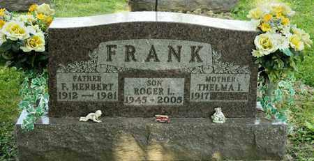 FRANK, ROGER L - Richland County, Ohio | ROGER L FRANK - Ohio Gravestone Photos