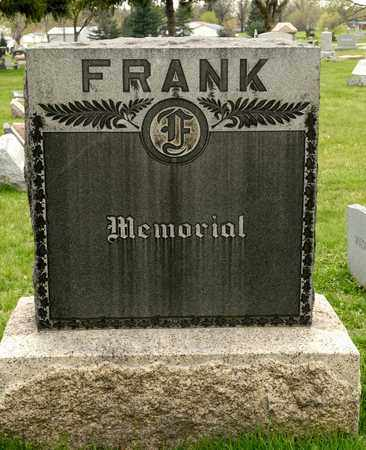 FRANK, MARGARET - Richland County, Ohio | MARGARET FRANK - Ohio Gravestone Photos