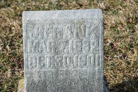 FRANK, J - Richland County, Ohio | J FRANK - Ohio Gravestone Photos