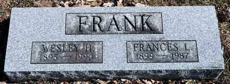 FRANK, FRANCES L - Richland County, Ohio | FRANCES L FRANK - Ohio Gravestone Photos