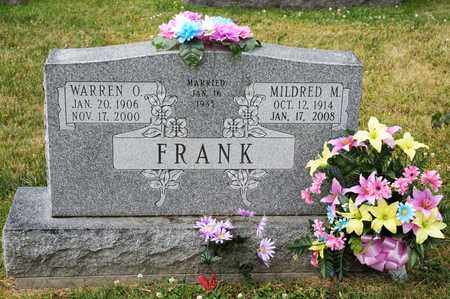 FRANK, WARREN O - Richland County, Ohio | WARREN O FRANK - Ohio Gravestone Photos
