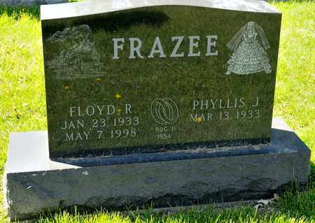 FRAZEE, PHYLLIS J - Richland County, Ohio | PHYLLIS J FRAZEE - Ohio Gravestone Photos
