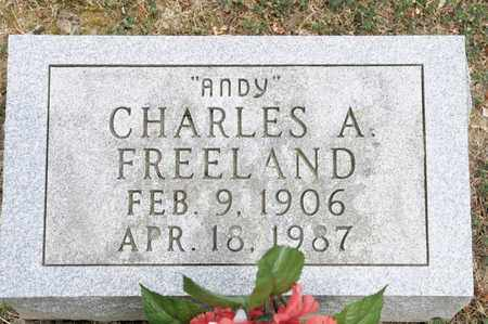 "FREELAND, CHARLES A ""ANDY"" - Richland County, Ohio 