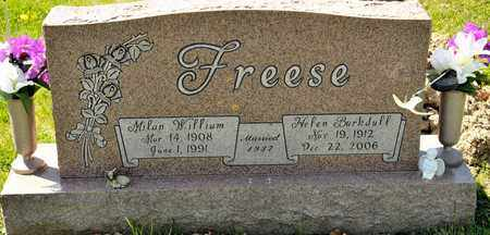 BARKDULL FREESE, HELEN - Richland County, Ohio | HELEN BARKDULL FREESE - Ohio Gravestone Photos