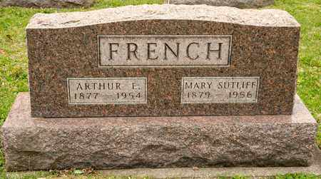 SUTLIFF FRENCH, MARY - Richland County, Ohio | MARY SUTLIFF FRENCH - Ohio Gravestone Photos
