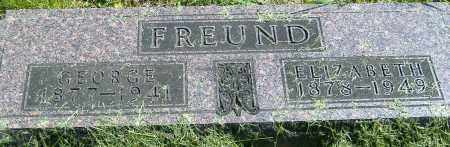 FREUND, GEORGE - Richland County, Ohio | GEORGE FREUND - Ohio Gravestone Photos