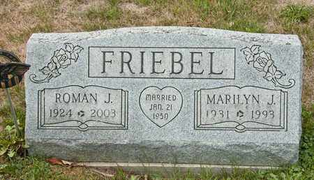 FRIEBEL, ROMAN J - Richland County, Ohio | ROMAN J FRIEBEL - Ohio Gravestone Photos